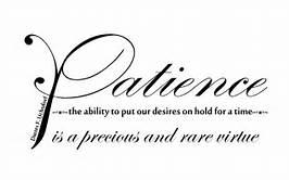 patience def